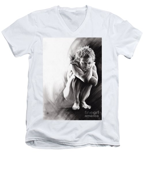 Quiescent II Men's V-Neck T-Shirt