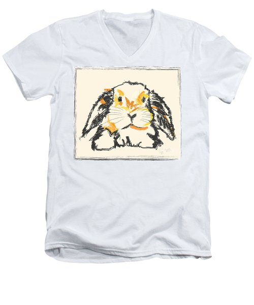 Rabbit Jon Men's V-Neck T-Shirt
