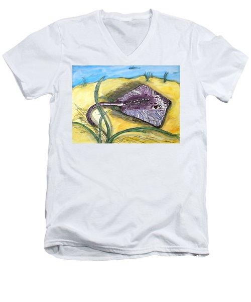 Ray Men's V-Neck T-Shirt