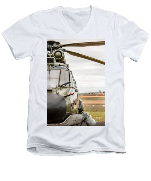 Ready For Action II Men's V-Neck T-Shirt