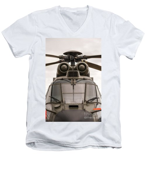 Ready For Action Men's V-Neck T-Shirt