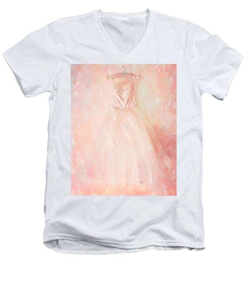 Ready For The Magic Men's V-Neck T-Shirt by Theresa Tahara