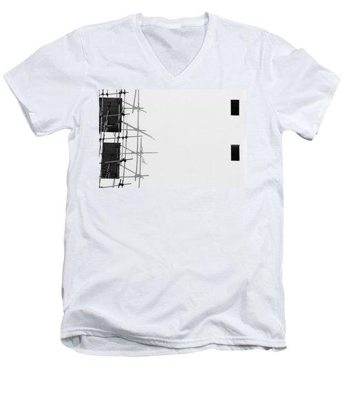 Rectangles And Shadows Men's V-Neck T-Shirt