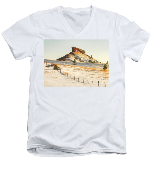 Red Butte Men's V-Neck T-Shirt