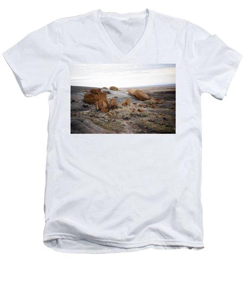 Red Rock Coulee II Men's V-Neck T-Shirt