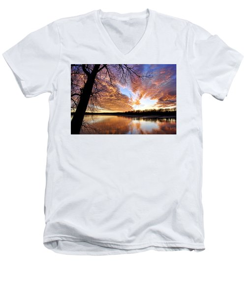 Reflected Glory Men's V-Neck T-Shirt