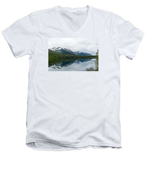 Reflection Montana  Men's V-Neck T-Shirt