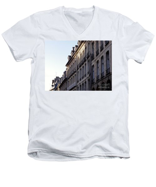Rennes France 3 Men's V-Neck T-Shirt