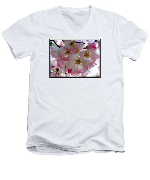 Resplendent Men's V-Neck T-Shirt by Patti Whitten