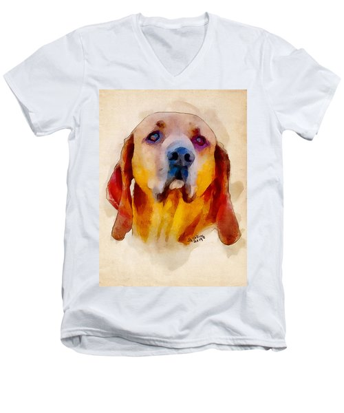 Retriever Men's V-Neck T-Shirt