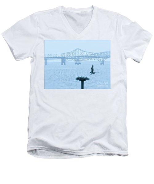 Returning Home  Men's V-Neck T-Shirt