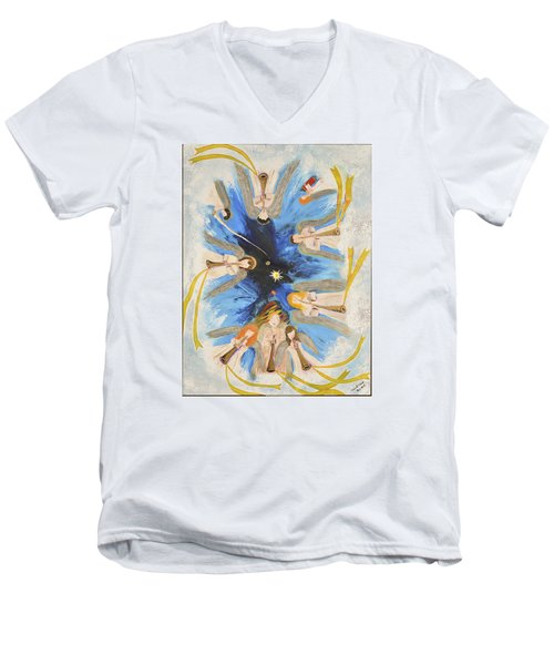 Revelation 8-11 Men's V-Neck T-Shirt