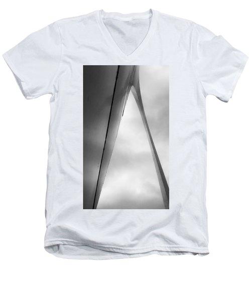 Ribbon In The Sky Men's V-Neck T-Shirt