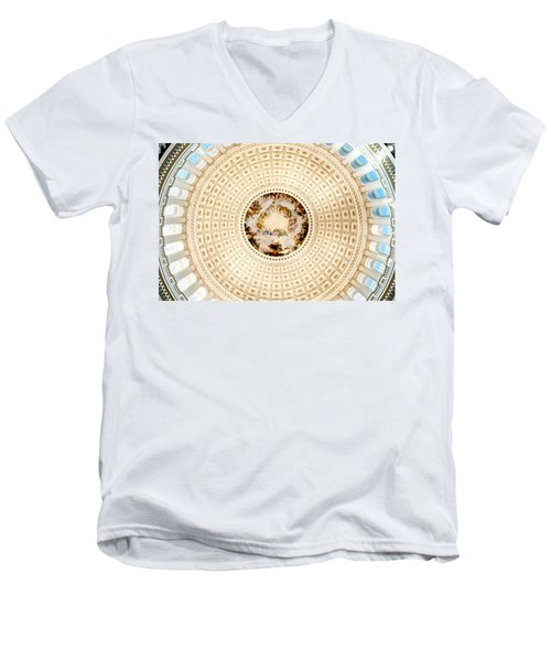 Ring Around The Capitol Men's V-Neck T-Shirt