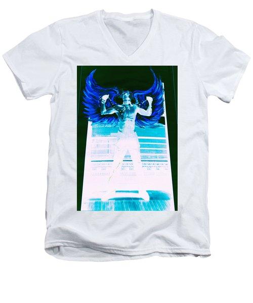 Rising Angel Men's V-Neck T-Shirt