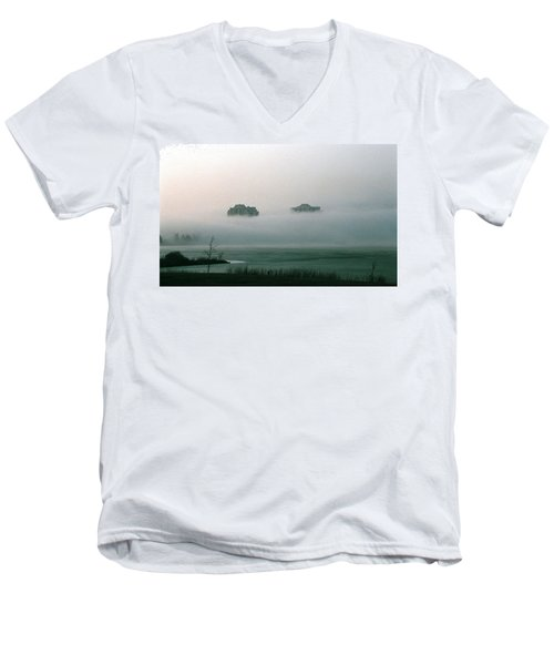 Rising From The Mist Men's V-Neck T-Shirt