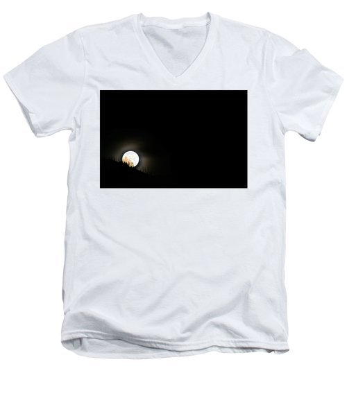 Rising Moon Men's V-Neck T-Shirt