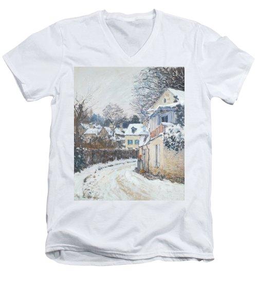 Road Louveciennes Men's V-Neck T-Shirt