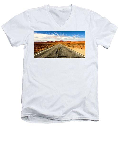 Road To Navajo Men's V-Neck T-Shirt