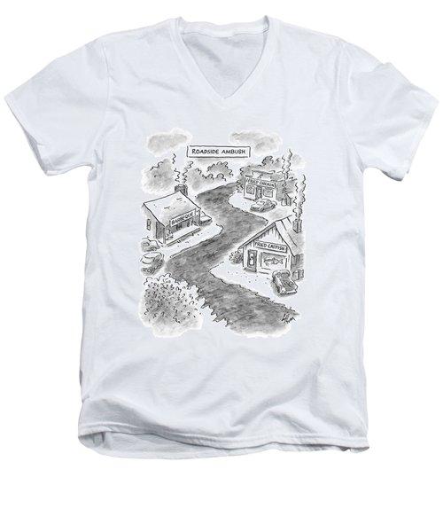 Roadside Ambush Men's V-Neck T-Shirt