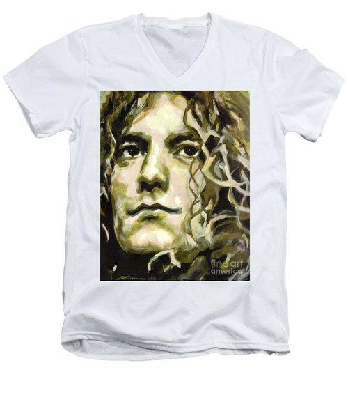 Robert Plant. Golden God Men's V-Neck T-Shirt