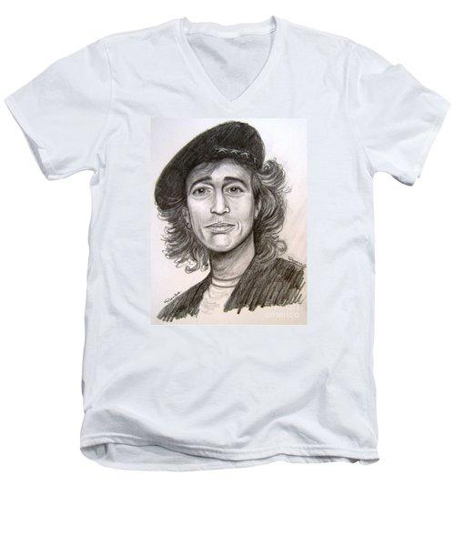 Robin Gibb Men's V-Neck T-Shirt