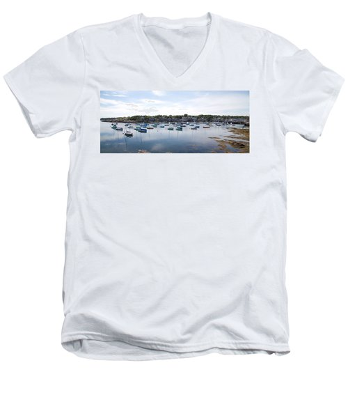 Rockport Ma Men's V-Neck T-Shirt