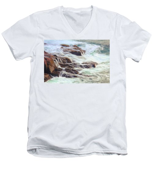 Awash  Men's V-Neck T-Shirt