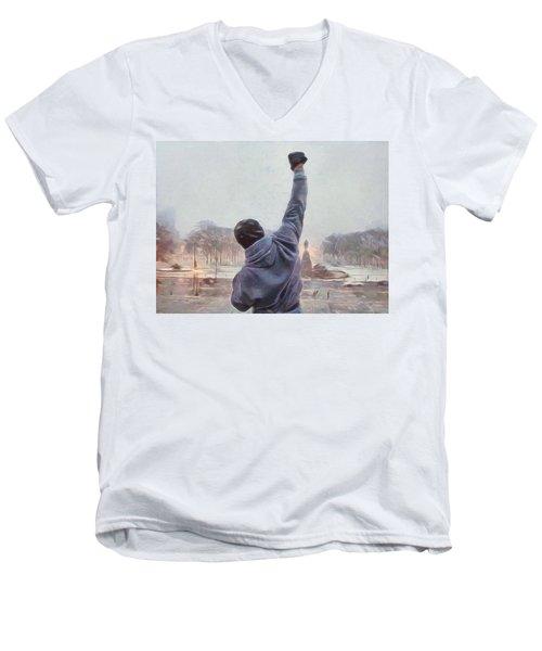 Rocky Balboa Men's V-Neck T-Shirt