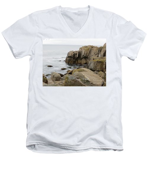 Rocky Formations Men's V-Neck T-Shirt by Joseph Baril