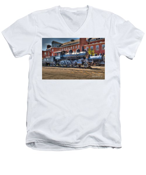 Rogers #299 Men's V-Neck T-Shirt by Anthony Sacco