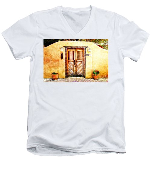 Romance Of New Mexico Men's V-Neck T-Shirt