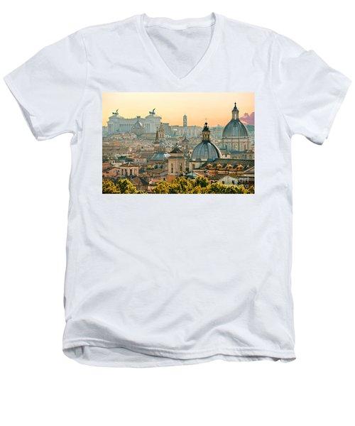 Rome - Italy Men's V-Neck T-Shirt