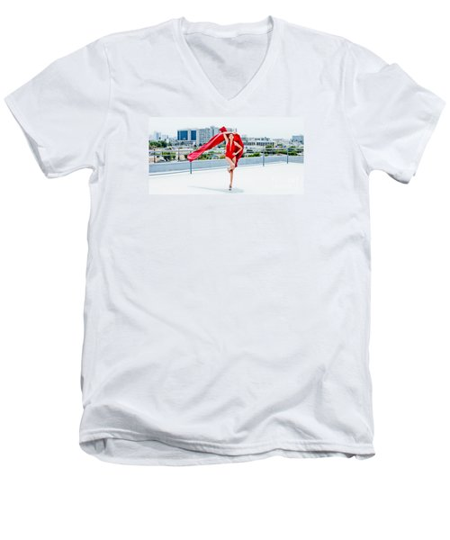 Roof Top II Men's V-Neck T-Shirt