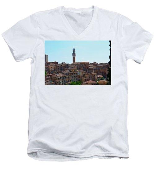 Roofs Of Siena Men's V-Neck T-Shirt