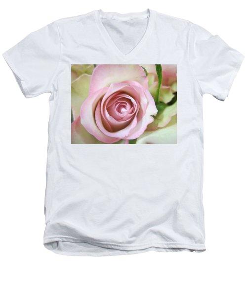 Rose Dream Men's V-Neck T-Shirt