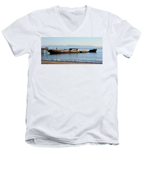 S. S. Palo Alto Men's V-Neck T-Shirt