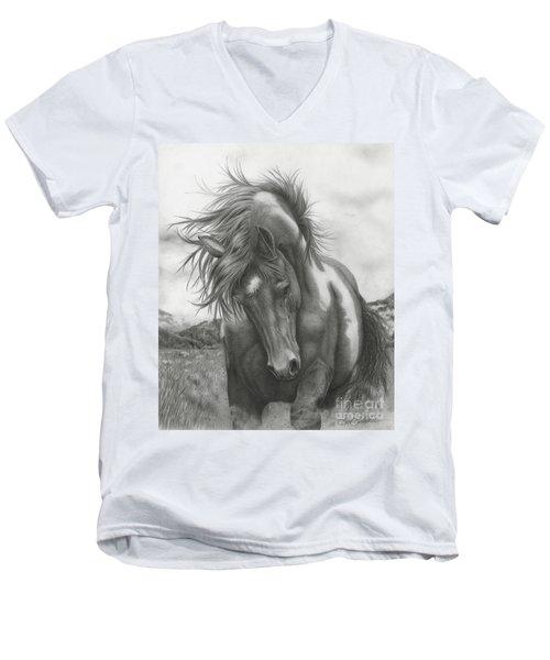 Sacred Stomping Grounds Men's V-Neck T-Shirt