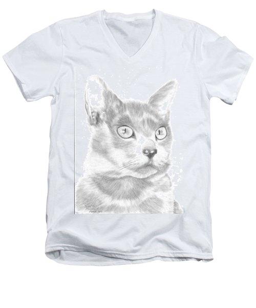 Saffy Men's V-Neck T-Shirt