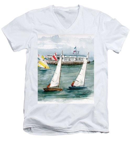 Sailing Class  Men's V-Neck T-Shirt