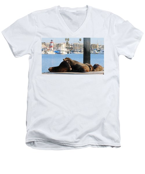 Sailing Dreams  Men's V-Neck T-Shirt