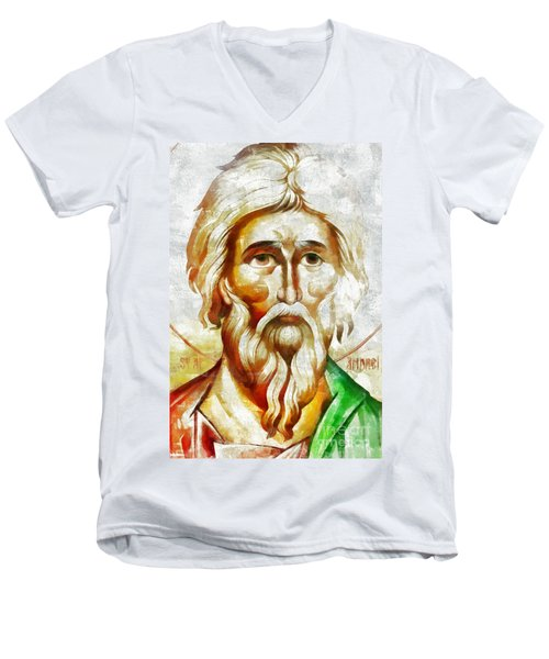 Saint Andrew  Men's V-Neck T-Shirt