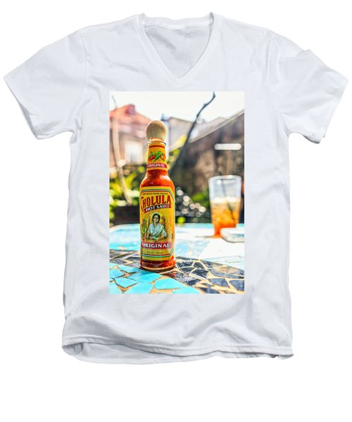Salsa Caliente Men's V-Neck T-Shirt