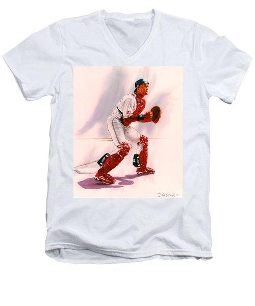 Sandy Alomar Men's V-Neck T-Shirt