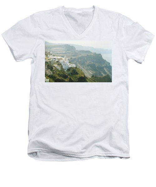 Santorini Men's V-Neck T-Shirt