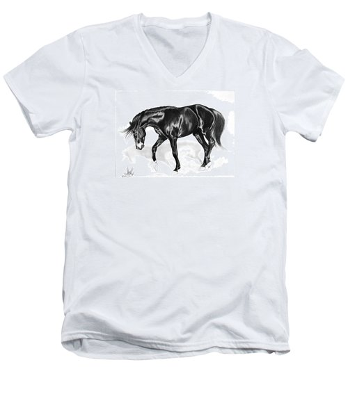 Scottish Gold - Registered Thoroughbred Men's V-Neck T-Shirt