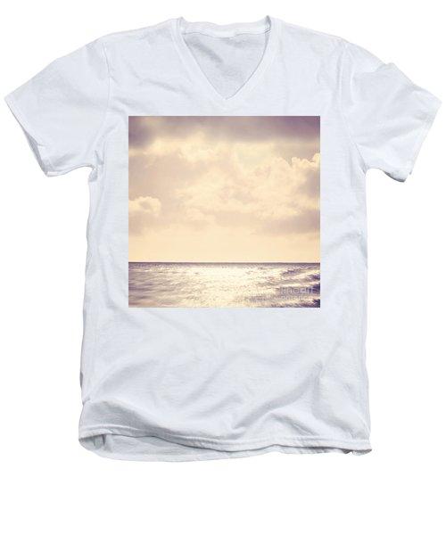 Sea Sparkle Men's V-Neck T-Shirt