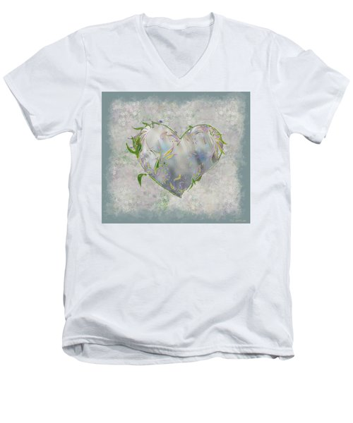 Sending Out New Shoots Men's V-Neck T-Shirt