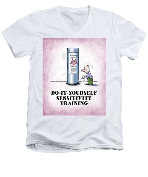 Sensitivity Training Men's V-Neck T-Shirt