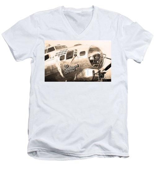 Sentimental Journey Men's V-Neck T-Shirt